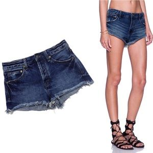 Free People Irreplaceable Cut Off Shorts